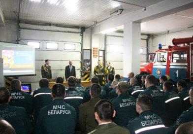 День спасателя в Кореличском РОЧС отметили в кругу друзей