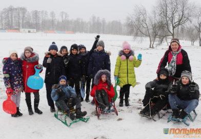 Всемирный день снега на Кореличчине прошел в бодром спортивном режиме (фото+видео)