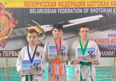 Главные в спортивном сезоне республиканские соревнования по шотокан каратэ-до принесли клубу «Белый тигр» полный комплект наград