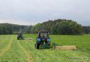 Как заготавливается зелёный корм для свитязянских бурёнок? Репортаж под гул моторов с полей сельхозпредприятия