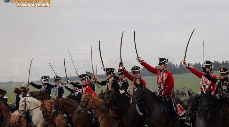 Во второй день военно-исторического фестиваля «Мир-1812» жители и гости Кореличчины стали зрителями реконструкции грандиозного сражения (Фото)
