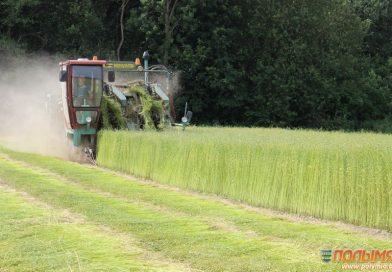 Геннадий Шатуев на ОАО «Кореличи-Лён»: «Необходимо привлекать инвестиции, работать с высокоурожайными сортами льна»