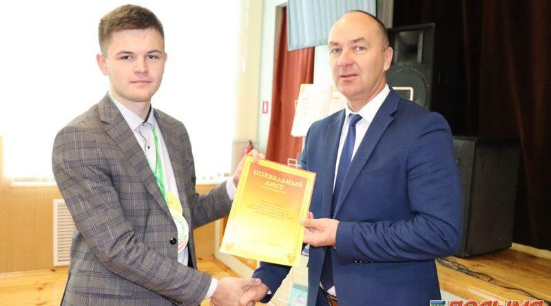 Геннадий Шатуев — старшеклассникам средней школы №1 г.п. Кореличи: «Именно вам предстоит создавать новые законы в родной стране»