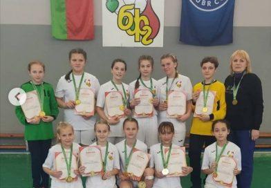 Кореличские спортсменки одержали победу в областных соревнованиях по гандболу