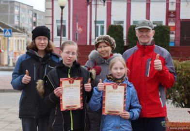 Бежим всей семьей. В Кореличах состоялся районный легкоатлетический весенний кросс на призы газеты «Полымя»