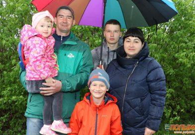 Семья Кужелевич из Кореличей за средства семейного капитала приобрела дом