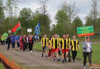 В Кореличах ко Дню семьи состоялся культурно-спортивный праздник