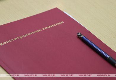 Очередное заседание Конституционной комиссии состоится 24 июня