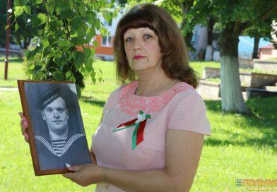 Кореличчане помнят своих героев. Инна Санчук рассказывает о своем дедушке-фронтовике Людвиге Захарчуке