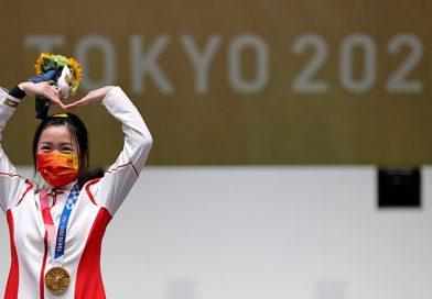 Китаянка Ян выиграла первое золото Олимпиады в Токио
