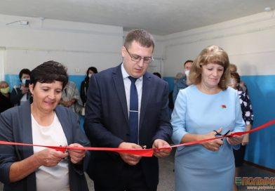 В Кореличах на улице Гастелло открылся библиотечный пункт