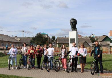 В Кореличском районе состоялся велопробег, посвященный Дню народного единства