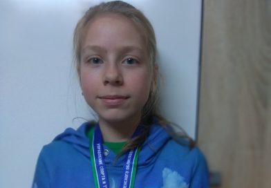 Кореличчанка Олеся Мингалева стала бронзовым призером областных соревнований по легкоатлетическому кроссу