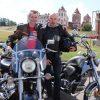 Кореличские байкеры, 73-летний «Минск» и море адреналина. Мирский замок собрал более 100 любителей ретро-мотоциклов (фото+видео)
