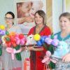 В акушерско-гинекологическом отделении Кореличской ЦРБ устроили приятный сюрприз для молодых мам