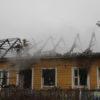 На пожаре в агрогородке Полужье погиб 67-летний пенсионер