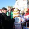 """Кореличские аграрии принимают участие в областных """"Дажынках"""" в Ивье"""