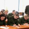Кинолог Екатерина Макаревич из Кореличей успешно сдала экзамен на получение офицерского звания