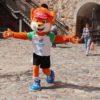 В преддверии II Европейских игр в Кореличском районе появились символы предстоящего масштабного события