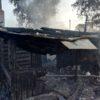 Ночью 16 июля в д. Бережное горел дом
