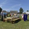 Деревня Бережно песнями и накрытыми столами встретила свой праздник