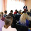 Глава Кореличского района Геннадий Шатуев в единый день информирования побывал  в Жуховичах