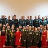 Праздник ко Дню спасателя традиционно собрал вместе работников Кореличского РОЧС
