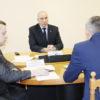 Министр внутренних дел Республики Беларусь Юрий Караев провел прием граждан в Кореличах